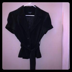 A. Byer short-sleeved blazer